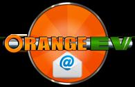 Orange EV circle small email