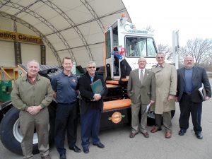 Chautauqua County New York Deploys Orange EV Electric Yard Truck